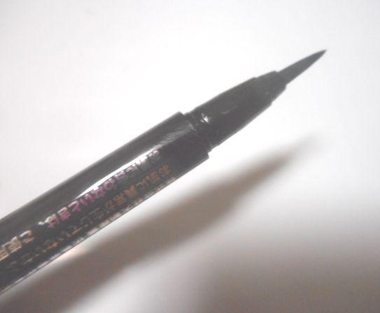 【レビュー】ダイソー 200円商品:エスポルール カラーアイライナーBK 2D4G4 ブラック黒